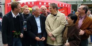 Europa-Wahlkampfabschluss der Schwerter SPD