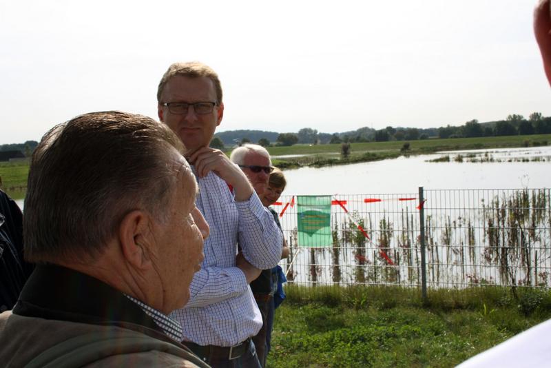 Hochwasserrückhaltebecken, Fritz-Husemann-Straße, Bönen