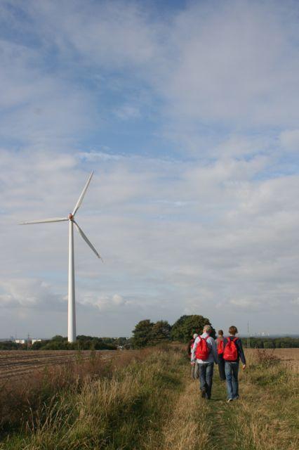 Auf dem Weg zur Windenergie