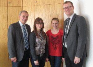 Girls' Day am 27.3.14: Besuch bei Bürgermeister Werner Kolter